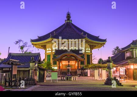 Kofuku-ji Temple in Nara, Japan at Nanendo Pavilion. - Stock Photo