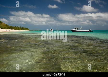 Lifuka island. Haapai islands, Tonga. Polynesia - Stock Photo