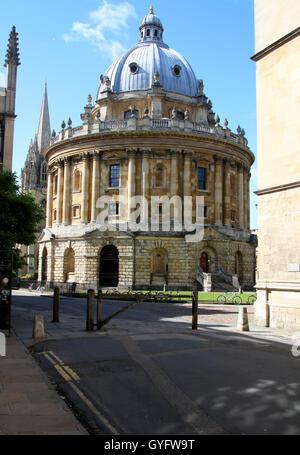 Radcliffe Camera Oxford University - Stock Photo