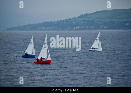 Sailing on the Clyde - Stock Photo