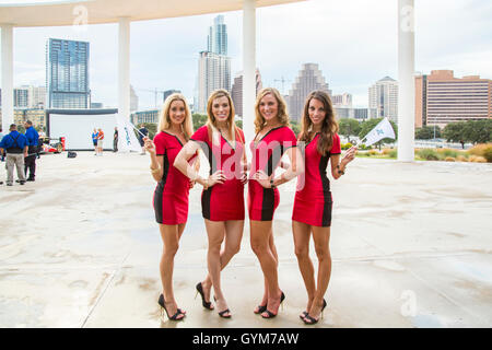 Circuit of the Americas Girls at an event in Austin, Texas - Stock Photo