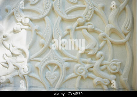 The white texture. Wall with vintage - Stock Photo