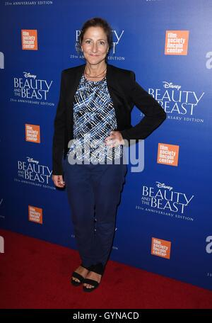 New York, NY, USA. 18th Sep, 2016. Edie Falco at arrivals for BEAUTY AND THE BEAST 25th Anniversary Screening, Alice - Stock Photo
