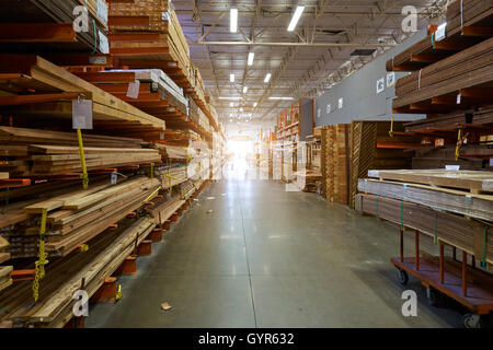 Los Angeles, CA, USA - September 13, 2016: A view of  Home Depot store - Stock Photo