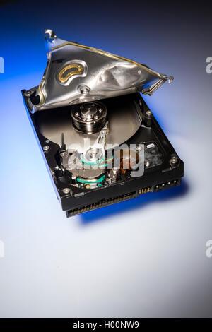 how to open broken external hard drive