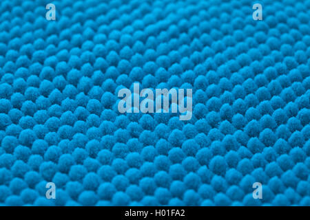 surface of brand-new soft bathroom mat man made regular texture background - Stock Photo