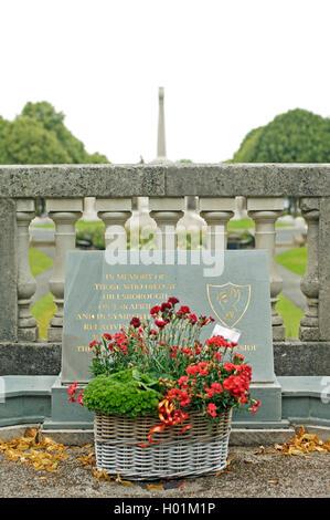 Hillsborough disaster memorial at Port Sunlight,Merseyside,UK - Stock Photo