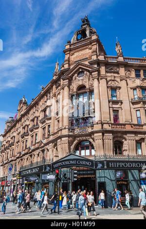 England, London, Leicester Square, Hippodrome Casino - Stock Photo