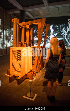London, UK. 19 September 2016. Pictured: The Refusal of Time (2012), created in collaboration with Philip Miller, - Stock Photo