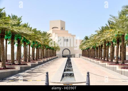 Doha Museum of Islamic Art, Qatar - Stock Photo