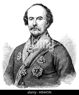 General Sir William Fenwick Williams, 1st Baronet of Kars (1800 – 1883) was a Nova Scotian. He and other British - Stock Photo