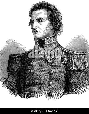 Captain Sir William Peel (1824 – 1858) was a British naval officer, and recipient of the Victoria Cross,  and the - Stock Photo