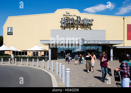 Warner Brothers Studio Tour, The Making of Harry Potter, London - Stock Photo