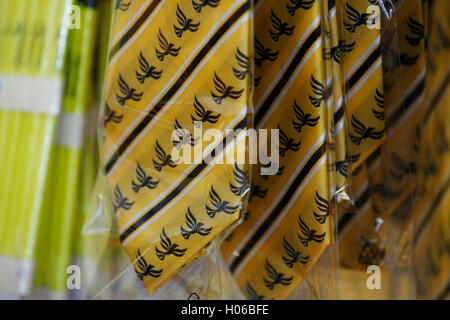 Brighton, UK 20th Sep, 2016 Liberal Democrat logo ties  are on sale at  the Liberal Democrats Autumn Conference - Stock Photo
