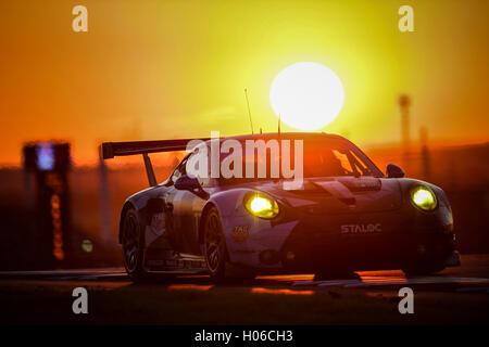 18.09.2016. Circuit of the Americas, Austin, Texas, USA.  WEC 6 Hours Endureance racing.  #77 DEMPSEY PROTON RACING - Stock Photo