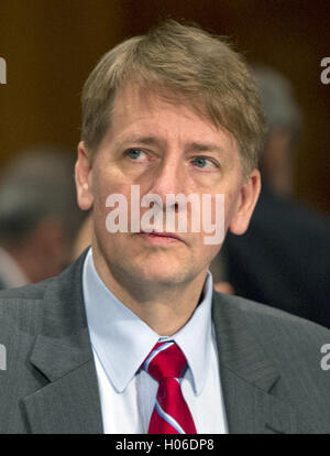 Washington, District of Columbia, USA. 20th Sep, 2016. Richard Cordray, Director, Consumer Financial Protection - Stock Photo