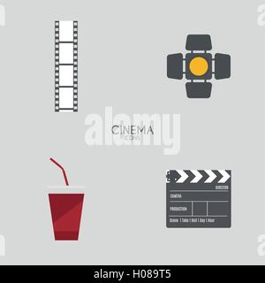 Abstract Cinema objects - Stock Photo