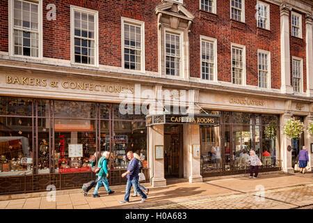 Bettys Tea Rooms, York, North Yorkshire, England, UK - Stock Photo