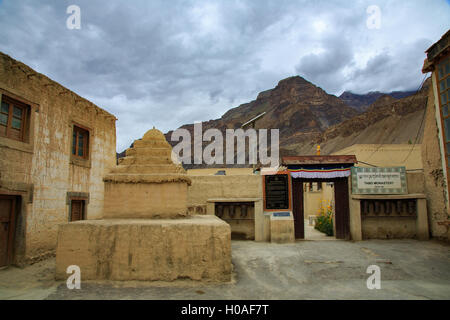 Tabo Monastery - Spiti Valley (Himachal Pradesh, India) - Stock Photo