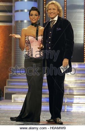 Tv Presenter Thomas Gottschalk Is Pictured During German