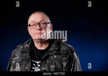 Stuart Cosgrove, the Scottish journalist, broadcaster and television executive, at the Edinburgh International Book - Stock Photo