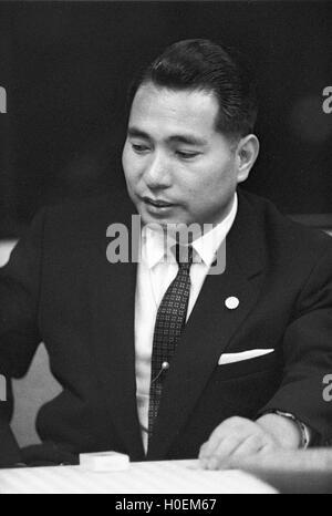 Daisaku Ikeda, former President of Soka Gakkai, the