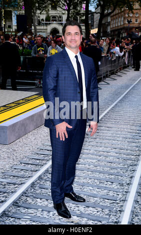 Tate Taylor attending the world premiere of The Girl On The Train at Leicester Square, London. - Stock Photo