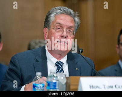 Washington, Us. 20th Sep, 2016. Tom Curry, Comptroller of the Currency, Office of the Comptroller of the Currency; - Stock Photo