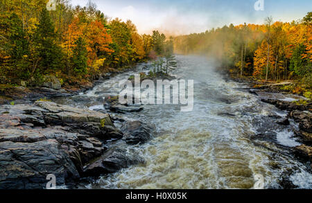 Falls and colors - Stock Photo