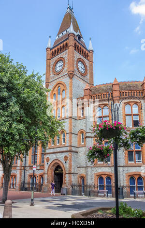 Old Town Hall Now A Museum Reading Berkshire - Stock Photo
