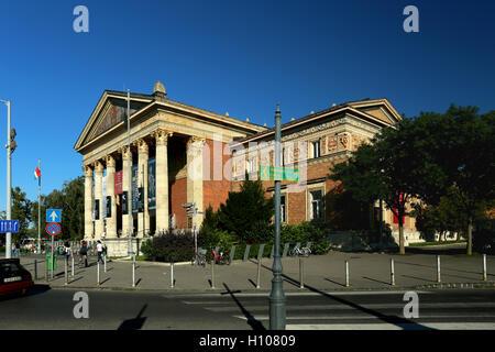 The Art Gallery at Hero Square Budapest Hungary - Stock Photo