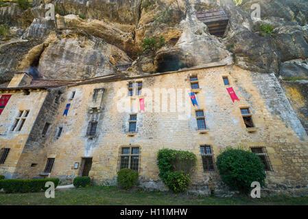 Maison Forte de Reignac, Dordogne, Perigord, France, EU, Europe - Stock Photo