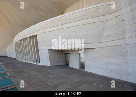 Auditorio de Tenerife, Architekt Santiago Calatrava, Santa Cruz de Tenerife, Teneriffa, Kanarische Inseln, Spanien - Stock Photo