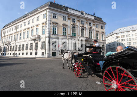 Hofburg Palace - Bundeskanzleramt (Federal Chancellery), Vienna, Austria, Europe - Stock Photo