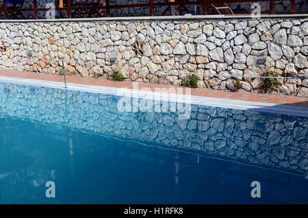 Amazing holidays at Lefkada island , Ionian sea , Greece , Europe . - Stock Photo