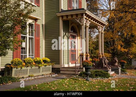 Landmark Inn, Bed and Breakfast, Cooperstown, NY - Stock Photo
