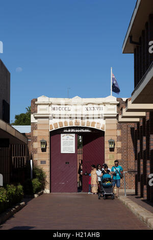 Old Dubbo Goal was a prison in the city of Dubbo, New South Wales, Australia. - Stock Photo