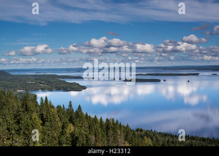 Clouds over Pielinen - Stock Photo