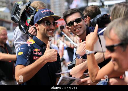 Daniel Ricciardo, Red Bull Racing, Gp Monaco 2016 - Stock Photo