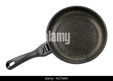pan for cooking isolated on white background - Stock Photo