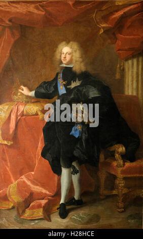 Philip V (19 December 1683 – 9 July 1746) King of Spain - Stock Photo