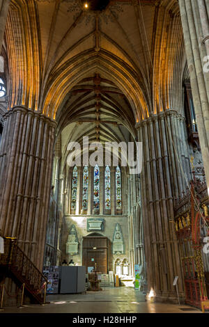 St. Stephen's Chapel, Lichfield Cathedral, Lichfield, Staffordshire, England, UK - Stock Photo