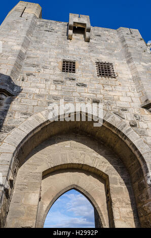 Remparts, Aigues Mortes, Gard, Provence, France - Stock Photo
