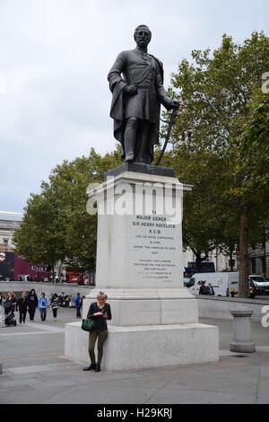 Major General Sir Henry Havelock, Statue at Trafalgar Square, London.