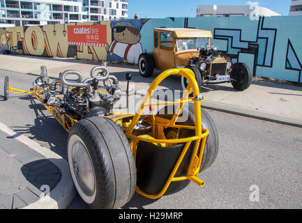 Antique Car Display In Old Town Area At Kissimmee Orlando Disney Stock Photo 11667631