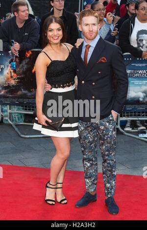 London, UK. 26 September 2016. Neil Jones. Red carpet arrivals for the European Premiere of the Hollywood movie - Stock Photo