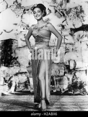 DOROTHY LAMOUR (1914-1996) US film actress about 1952 - Stock Photo