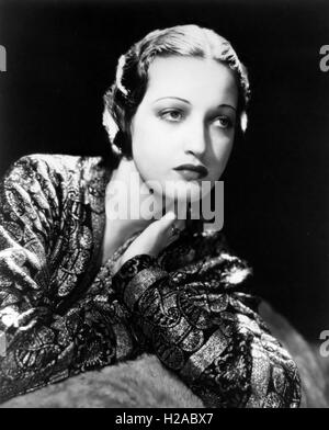 DOROTHY LAMOUR (1914-1996) US film actress in 1938 - Stock Photo