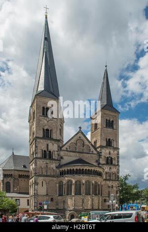 The Cathedral, Bonn, North Rhine Westphalia, Germany - Stock Photo