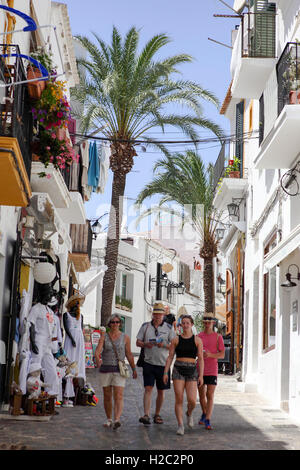 Dalt Vila offers the discerning traveller a step back into Roman times or up to date juice bars and clothes retail outlets.